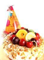Las ideas de menú para una fiesta de cumpleaños Pequeño Tarde