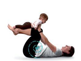 Cómo mantener a un bebé activo físicamente
