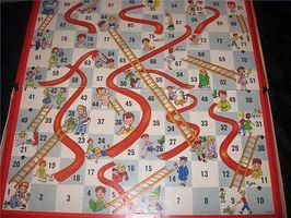 Cómo hacer un juego Serpientes y Escaleras