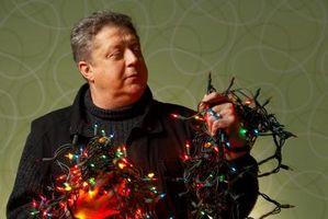 Cómo hacer que el flash de las luces del árbol de navidad