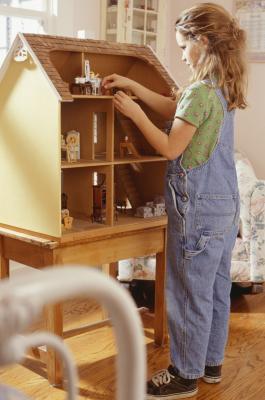 Cómo coser una manta Tamaño de Barbie