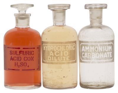 Diferencia entre muriático y ácido sulfúrico