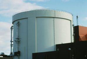 Cómo calcular las pérdidas de calor de los tanques de almacenamiento