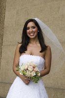 Cómo hacer un velo de novia de tela