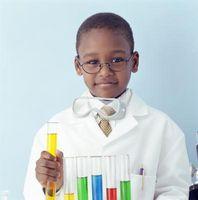 Experimentos de Ciencia tubo de ensayo para Niños