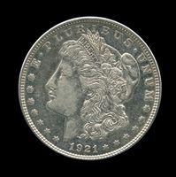 Datos estadounidenses moneda de plata