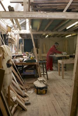 Cómo mantener madera torneada de la división o Desecación