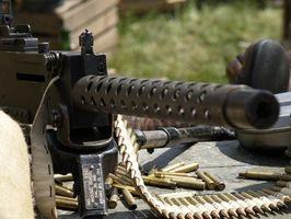Machine Gun Shooting Seguridad