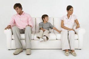 El proceso de curación de los niños después del divorcio de sus padres