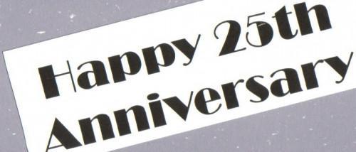 Las ideas del libro de recuerdos para un 25 aniversario