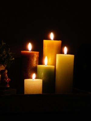 ¿Cuál es la diferencia entre la vela y vela de olor Bloques aceites de olor?