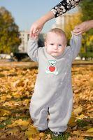 Etapas del desarrollo físico a los lactantes