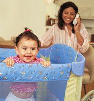 Los mejores corrales portátiles para un bebé