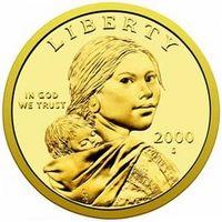 ¿En qué año hacen que el dólar Sacagawea?