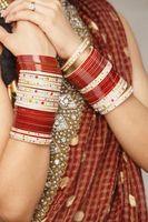 Cómo hacer una bufanda de un viejo sari