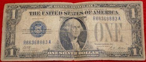 ¿Qué es un dólar certificado de plata?