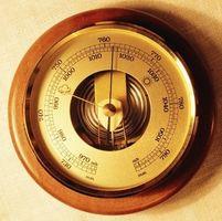 Cómo establecer la presión barométrica