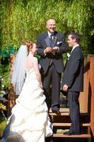 Etiqueta de la boda para un pastor