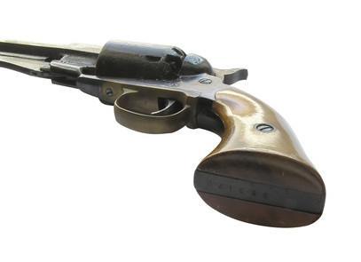 Cómo disparar Cap & Ball revólveres