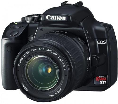Cómo arreglar una Canon EOS Rebel XTi