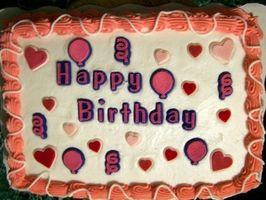 Más grandes y más fresco de la torta de cumpleaños ideas