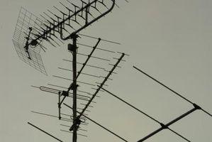 Cómo instalar una antena de 11 metros de una torre Amateur