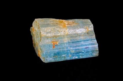 Datos de la piedra preciosa de color aguamarina