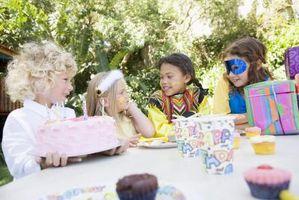 ¿Cómo los niños celebran cumpleaños en Francia?