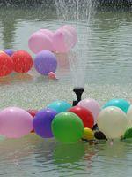 Juegos del globo del agua para la juventud