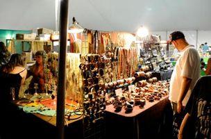 Lo que los vendedores ofrecen en los festivales