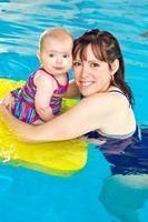 La piscina flotadores de los mejores del bebé