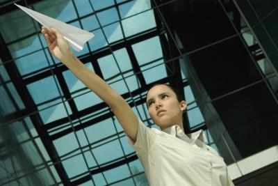 Diversión Proyectos de Ciencias de trabajo con aviones de papel