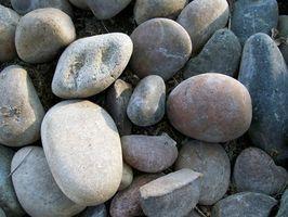 Los tipos de rocas y el suelo