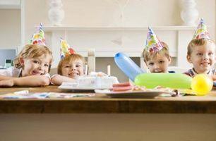 Ideas para el partido de una de tres años viejo