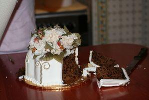 Como descongelar la capa superior de un pastel de bodas