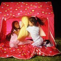 Ideas de la fiesta de pijamas para niñas