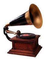 Cómo restaurar un antiguo gramófono