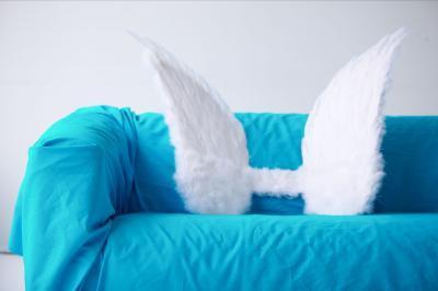 Cómo hacer alas de plumas en movimiento