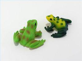 Cómo hacer favores de partido de la rana