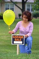 Cómo configurar un garaje o venta de garaje
