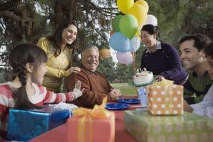 Ideas para el cumpleaños del hombre