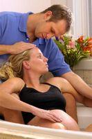 Cómo ser un compañero de parto activo durante la Transición