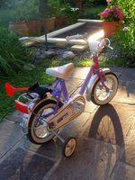 Seguridad bicicleta para niños en edad preescolar