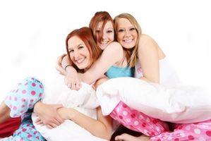 Buenos juegos para jugar en una fiesta de pijamas