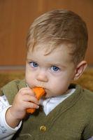 Ideas dedo alimentos para bebés y niños pequeños