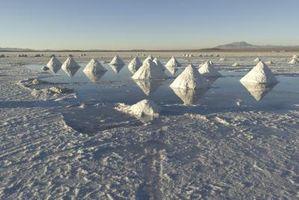 Cómo separar la sal del agua