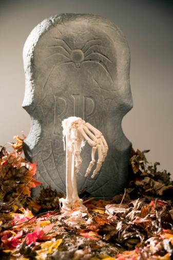 DIY: Jardín Decoración de Halloween del zombi