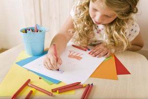 Etapas del desarrollo artístico que niños pequeños Progreso A través de la infancia a 4º grado