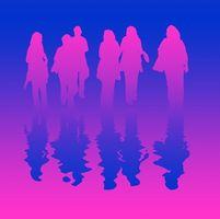 Juegos de la diversión para los pequeños grupos de mujeres