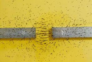 Las partículas que crean un campo magnético